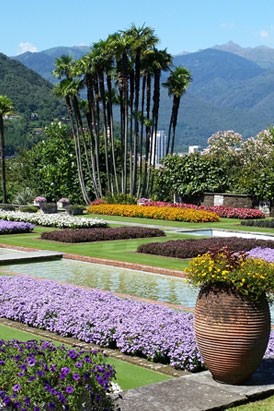 Perfect luacqua dal lago furono create fontane giardini - Giardini terrazzati immagini ...